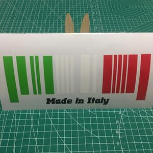 21 * 8,3 cm Made in Italy moda bandeira para janela do carro adesivo CA-634