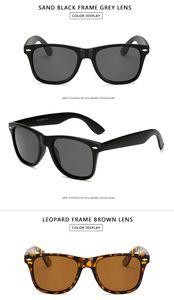 new Long Keeper Brand Unisex Retro Polarized Sunglasses Men Women Vintage Eyewear Accessories Black Grey Sun Glasses For Male Female