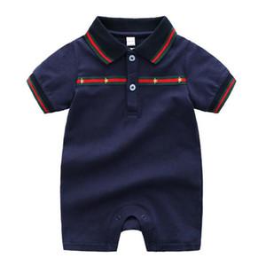 Nueva llegada del verano del mono del traje del bebé mamelucos del algodón ropa de polo ropa del bebé recién nacido bebé niña niños bebés Roupas