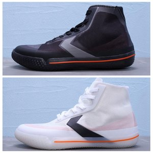 All Star Pro BB 2019 Casual Noir Blanc Orange Noir Blanc Chaussures Mode Designer Hommes Femmes Chaussures Baskets