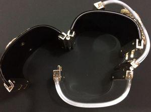 Bracelet classique! Mode acrylique lux bracelets bracelets avec une grande torsion d'or C pour les femmes avec le sac