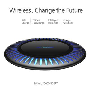 safe 10W Fast wireless phone charger with shell qi wireless car charger magnetic samsung wireless charger