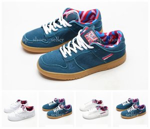 2019 Parra X SB Skate Dunk Low Shoes amigos e família Pink White Mens Womens Running Shoes Designer Sports Sneakers des Chaussures