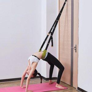 Faixas de resistência Exercícios físicos portáteis yoga alongamento alça de volta assist tra treinador perna aptidão melhorar a flexibilidade corporal
