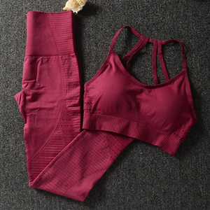 Gym 2 Piece Set Workout Clothes for Women Sports Bra and Leggings Set Sports Wear for Women Gym Clothing Athletic Yoga Set36