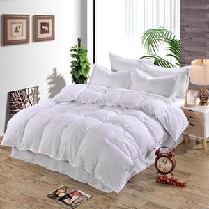 Edredon liso Quilt Cover capa de cama para conjuntos de cama Consolador Single / Double / King Size Adultos da família Crianças de cetim de algodão acolchoado