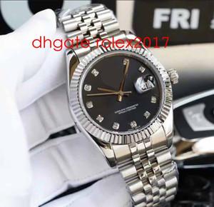 7 스타일 럭셔리 고품질 남성 36mm 116234 116233 Datejust 다이아몬드 다이얼 아시아 2813 무브먼트 자동 18K 골드 망 빌리 시계