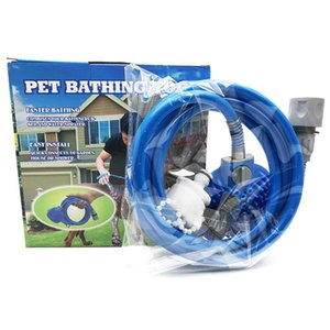 New Pet Bade Werkzeug Komfortable Massagedusche Werkzeugreinigung Waschbad Sprayers Hundebürsten Tierbedarf Großhandel 2-2