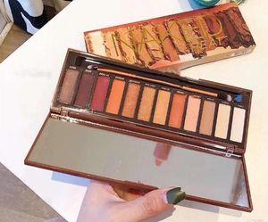 НАКе тепла палитра теней для век палитра 12 цветов теней для век макияж тени для век палитры бесплатная доставка