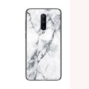 Moda em mármore de vidro temperado para oneplus 5 6 5 t 6 t 7 pro para motorola moto g6 g5 g5s plus tampa do telefone case