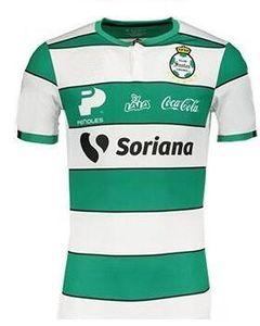 19-20 Custom Santos 10 MARTINEZ 15 LOZANO 7 ISIJARA 11 HERRERA 9 Thai Quality 5 NERVO 19 QUINONES 27 CORTES Soccer Cersey Shirt online