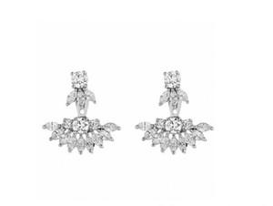 Women Earrings S925 sterling silver Plated Women earrings Party Wedding Earrings Gift Free shipping