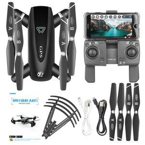 S167 control remoto Aeronaves, 4K HD 1080P Cámara 5G WIFI FPV aviones no tripulados, la localización del GPS, el vuelo de sonido envolvente, Follow Me Modelo UAV, Gesto de fotos, 3-2