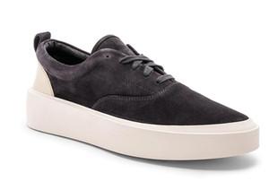 3A Actualización de Fear Of God x Calzado casual para hombre The Season 5 Suede Skateboarding Shoes Luxury Luxury Slip-On FOG Fashion Designer