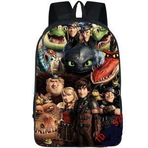 Daypack Backpack Packsack Classic Train Rucksack Dragon Pack To World School School Lick Bag كيف المدرسية صورتك الرياضية في الهواء الطلق دا سوزوز