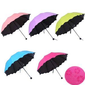 Новая Леди Принцесса Волшебные Цветы Купол Зонтик Солнце / Дождь Складной Зонт Prain женщин прозрачный зонт латунные костяшки для Женщин 6 Цветов