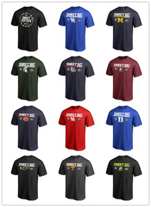 2019 Novità T-Shirt da basket da uomo NCAA Tournament March Madness Sweet 16 T-Shirt da uomo XS-3XL