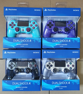 Drahtlose Bluetooth-Controller für PS4 Vibration Joystick Gamepad Game Controller Play Station mit Kleinkasten