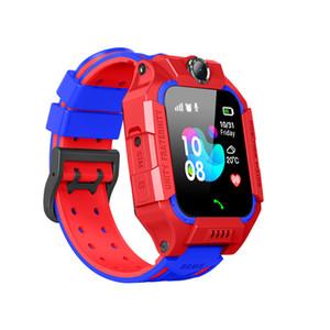 Q19 Детские дети Smart Watch Watch LBS Positing Lazation SOS Smart Bracte с фонариком камеры Игровые браслеты для детской безопасности