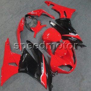 23colors + Gifts Spritzguss rote Motorradhaube für Kawasaki ZX6R 2009 2010 2011 2012 ABS Motor Verkleidung Kunststoff