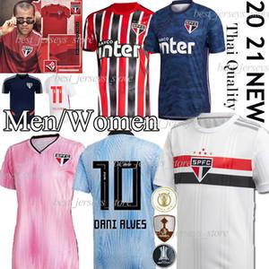 Thail DANI ALVES Jersey Sao Paulo NENE Fútbol 2020 camisa 2021 ARBOLEDA REINALDO Brasil del club de fútbol negro Inicio DIEGO