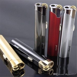 DHL-freier Aomai Jet Flame Feuerzeug-Fackel-Schleifscheibe Feuer Gerade Butangas Feuerzeug Feuerzeug einfach in Zigarette Box
