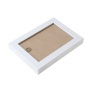Solid Wood Effect Висячего Альбом Photo Frame Wall Picture Display 6 ''