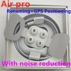 écouteurs puce H1 Gps Rename Air AP3 pro Tws Gen 3 pods fenêtre pop-up Bluetooth Casque auto à éplucher Earbuds Rechargement sans fil pro