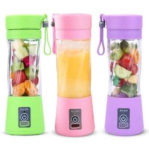 USB électrique Blender Portable Juicer squeeze bouteille rechargeable USB Mini Juicer Blenders fruits jus de légumes Maker Outils de cuisine ALSK93