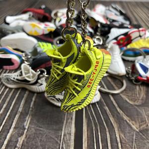 Llavero del teléfono celular correa de la manera zapatos Hadas Accesorios universales estéreo 3D 19 estilos 3D Mini zapatos llavero DHL