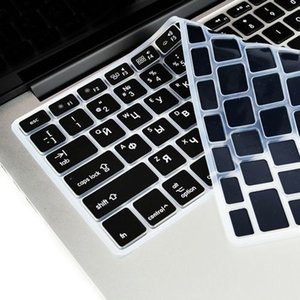 Eu Us silicone macio para MacBook Pro 13 15 Cd Rom Keyboard Cover russo Capa Para Macbook Pro 13 15 A1278 A1286 Rússia Keyboard T190619