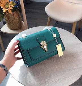 디자이너 핸드백 봉투 빅토리아 디자이너 명품 핸드백 지갑 체인 스트랩 어깨 크로스 바디 L 꽃 지갑 가방 체인 양각