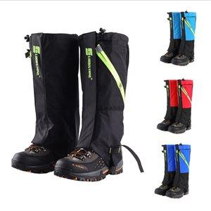 Neige Guêtres Randonnée Montagne Hiver Marche Leggings Gaiter pour Kid Hommes Femmes Dirt antipluie Covers Chaussures étanches