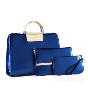 Die Luxus-Miss helle Ledertasche Frau einzigartige Handtasche