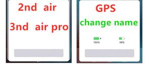 Новые Почки наушники Air H1 чип Переименован гарнитура второго поколения беспроводной зарядки Bluetooth наушники GPS позиционирования 3ND про имя изменения