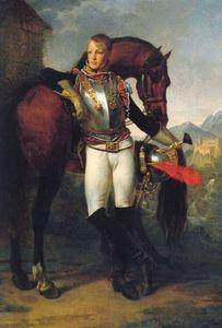 Alta calidad pintada a mano de impresión HD retrato clásico arte pintura al óleo caballero y caballo sobre lienzo Wall Art Home Decor p02