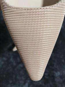 Hot Sale-entrega sapatos de grife de moda feminina 100% sandálias botão de couro de costura das mulheres compras sapatos de festa dos saltos altos das mulheres 35-40