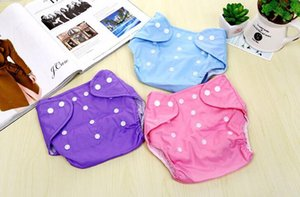 Baby Diaper Panties Cloth Mesh Diaper Underwear Adjustable Reusable Training Pantscloth Washable Nappy Cloth Pants Baby Cloth Diapers K22-WY