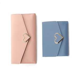 Кошельки клатчи женщины женские напульсники портмоне деньги держатель карты сплошной цвет розовый сумка черный искусственная кожа длинные короткие кошельки