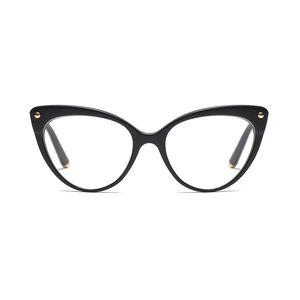 Toptan-Cat Eye Gözlükler Çerçeve Kadınlar Kadın Yüksek Kaliteli Metal OS039 Çerçeve için 2018 Marka Tasarımcı Optik Gözlük