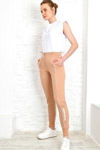 Trend Alacati Style Women Stitch Detail Pockets Sweatpants
