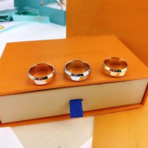 Новое кольцо Jewellery способа 316L Titanium Wedding Ring Довольно женщины обручальное кольцо мужчины и женщины подарка ювелирных изделий Модные аксессуары для подарков