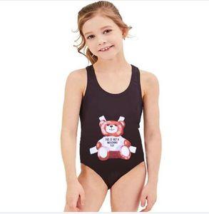 Summer One-piece swimming suit Girls Swimwear Cartoon Style Bikini For Children Swimsuit Kids Bathing Suit Beachwear