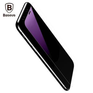 Baseus temperli cam kırılmaz tam ekran anti-mavi koruyucu film (ikincil sertleştirme) iphone x 0.15mm