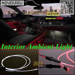 Für 3 M3 E30 E36 E46 F30 F31 F34 Z3 Auto-Innen NOVOVISU Ambient Light Panel-Streifen Beleuchtung Innenoptikfaser-Licht