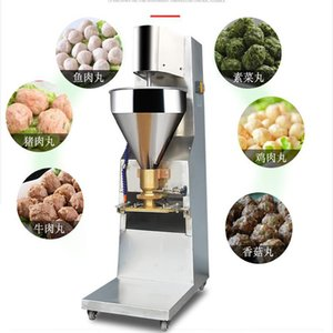 Commercial Easy Operation Ss 304 Automatic Electric professional seafood meatball fishball making machine for sale 220V