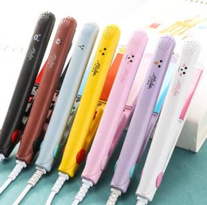 2020 elektrische Mini-Haarglätter kleiner netter hoher Effizienz elektrischer Haarglätter elektrischer Schiene Eisenereifer tragbar