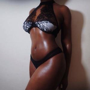 Женщины Шарм Sexy / Сисси Lace Babydoll G Шнура стринги Нижнее белье Пижамы