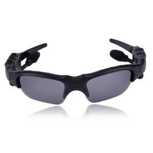 Sunglasses fone de ouvido bluetooth sem fio esportes fones de ouvido fones de ouvido estéreo handsfree mp3 mp3 player de música com pacote de varejo