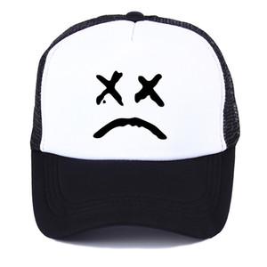 Lil Peep Mesh Love Printing net cap baseball cap Men women Summer Trend Cap New Youth Joker sun hat Beach Visor hat